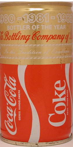 See my collection of Gold and Silver Coca-Cola cans
